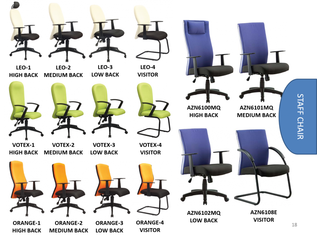 office staff chair malaysia