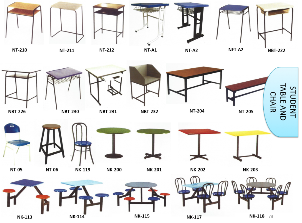 student chair and table malaysia 2